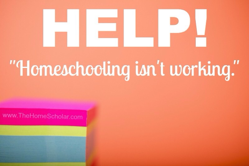 HELP! Homeschooling High School isn't Working!