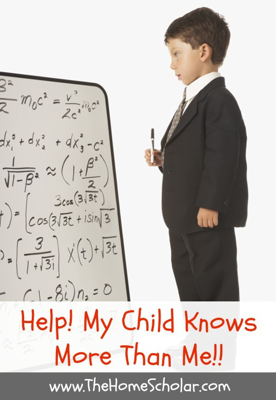 Help! My Child Knows More Than Me!!