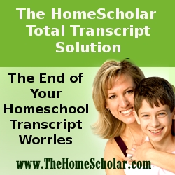 The HomeScholar Total Transcript Solution Launches at Noon!!