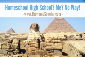 Homeschool High School? Me? No Way!