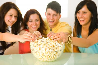 End of School Year Popcorn Party Plan