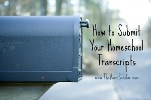 A Quick Homeschool Transcript Tip