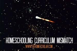 Homeschool Curriculum Mismatch