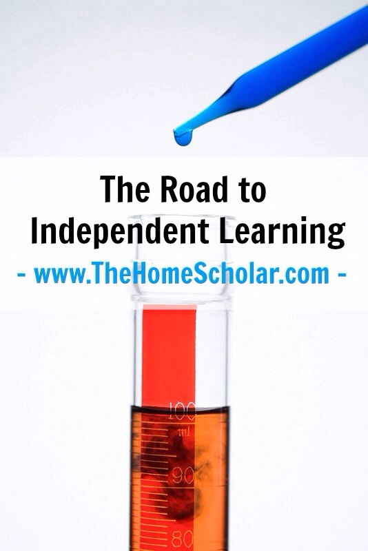 The Road to Independent Learning: Homeschool Science