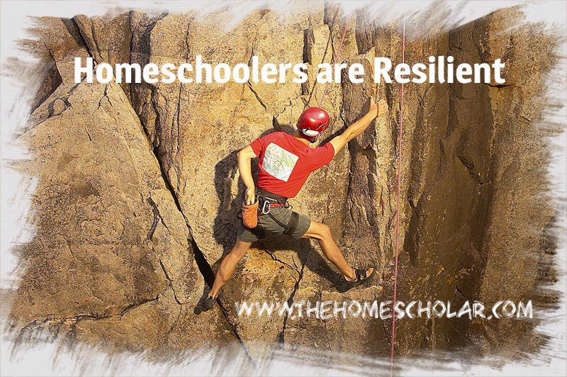 Homeschoolers are Resilient