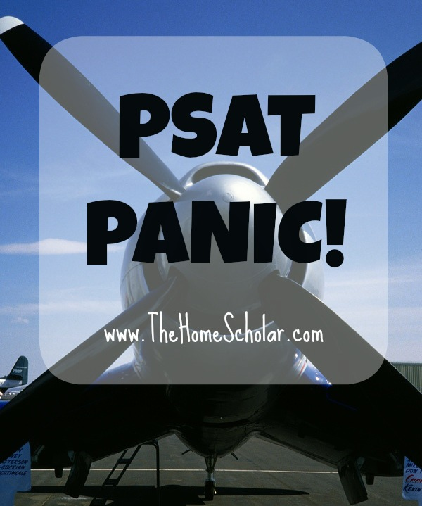 PSAT PANIC!!