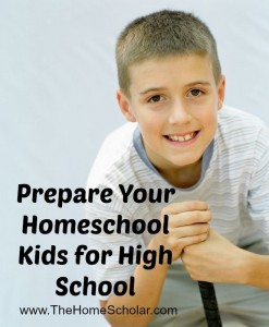 Prepare Your Child for High School