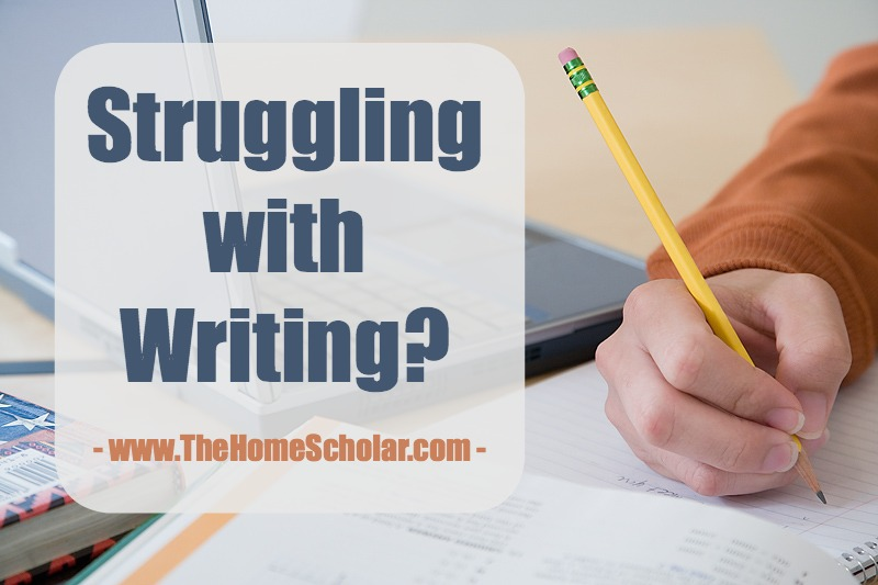 Struggling with Writing?