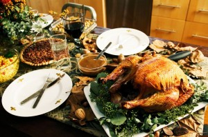 College Admissions and Thanksgiving Menus
