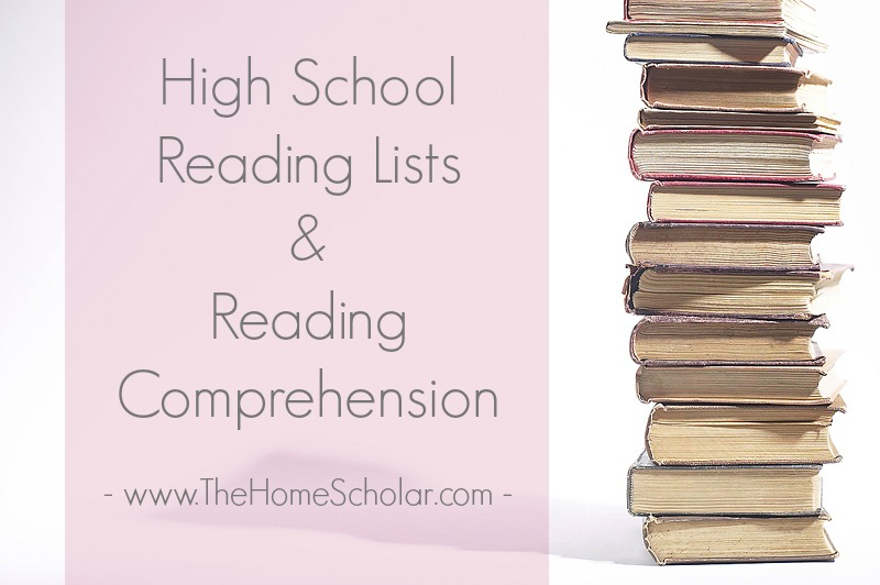 High School Reading Lists & Reading Comprehension
