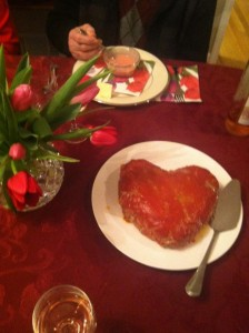 Heart Shaped Meals for Valentine's Day!