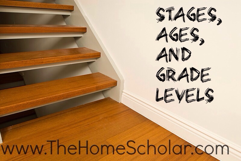 stages ages and grades level