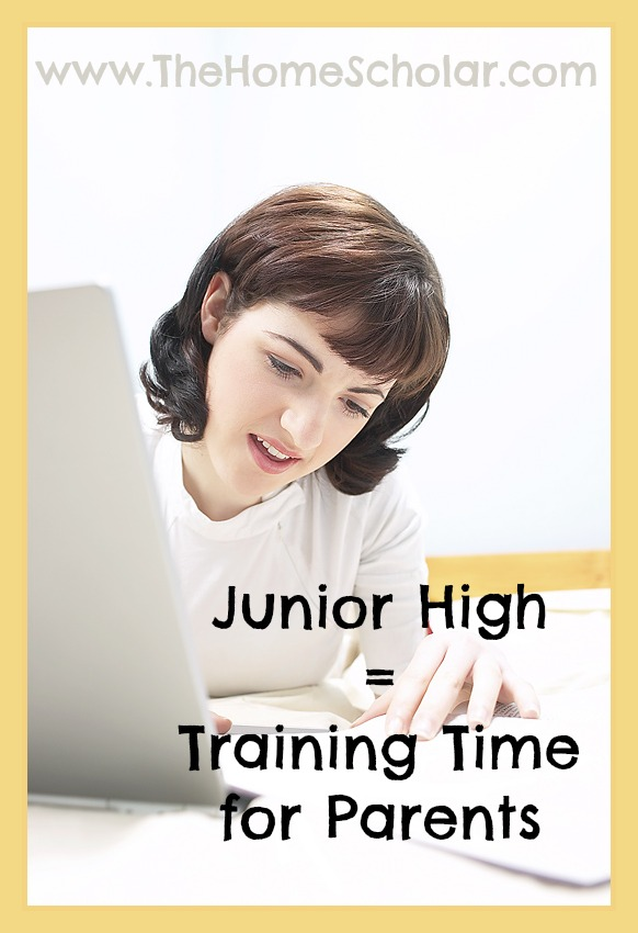 Junior High is Training Time for Parents