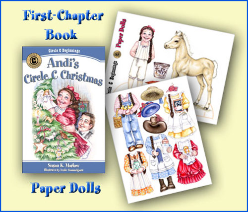 Andi's Circle C Christmas and Paper Dolls
