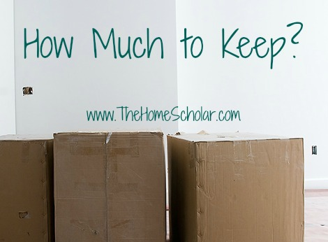 Homeschool Records: How Much to Keep?