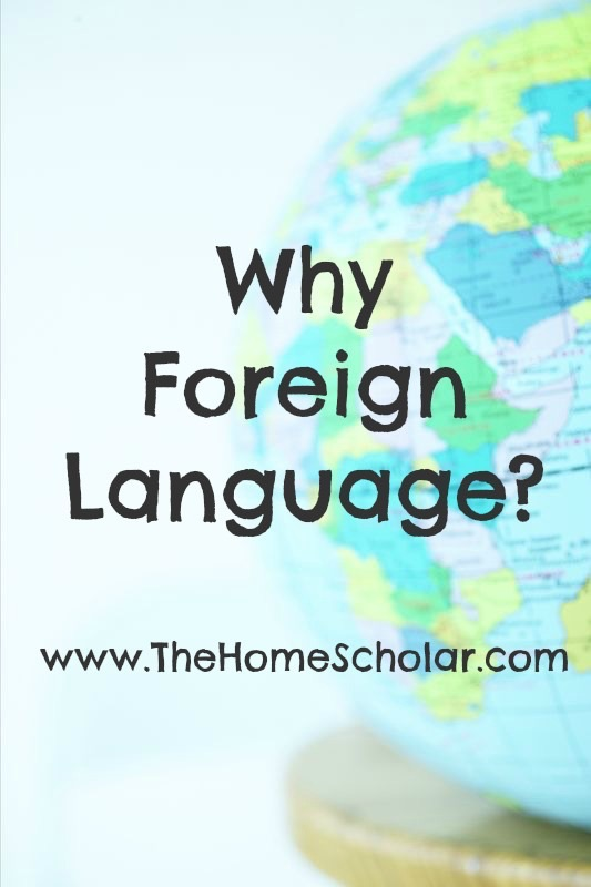 why foreign language