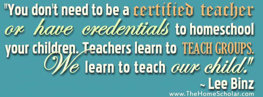 Homeschool Parent and Certified Teacher