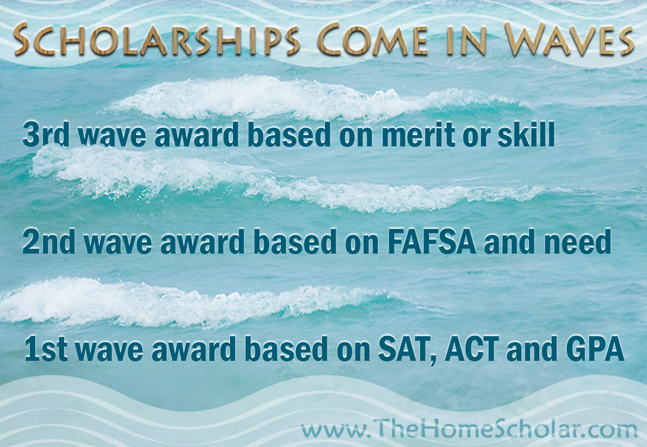 3 Waves of Scholarships