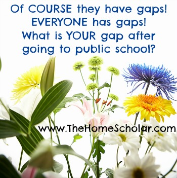 Educational Gaps
