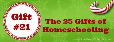 The 25 Gifts of Homeschooling: The Gift of Vision