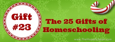 The 25 Gifts of Homeschooling: The Gift of a Love Offering to God