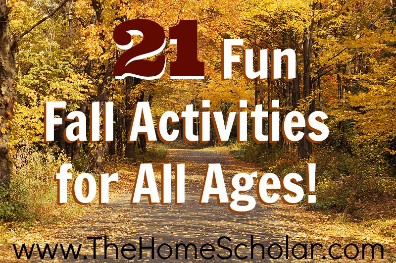 21 Fall Fun Activities For All Ages!