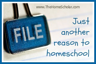 Just Another Reason To Homeschool