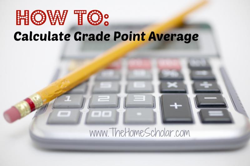 How to Calculate Homeschool GPA