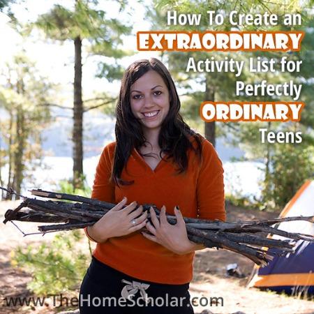 Great Activities for Teens