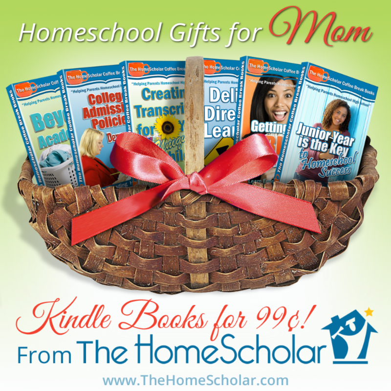 Hey moms, leave this open on your computer to give your family a hint, or treat yourself! If you have already enjoyed these books, pick them up as a Mother's Day treat for a fellow homeschooling mom!