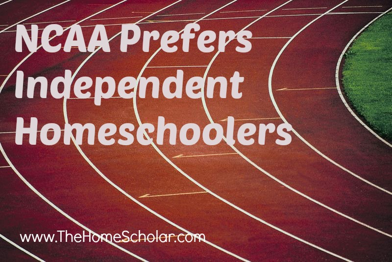 NCAA Prefers Independent Homeschoolers
