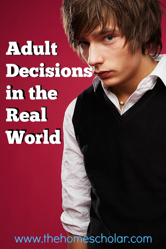 Adult Decisions in the Real World