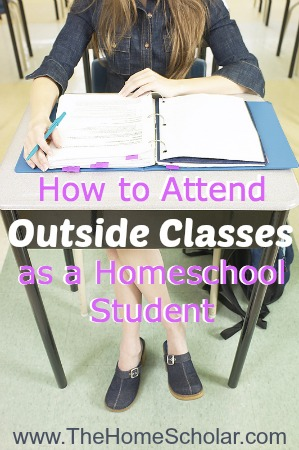 How to Attend Outside Classes as a Homeschool Student