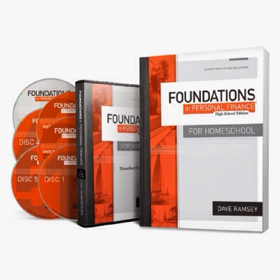 Dave Ramsey's Foundations in Personal Finance for Homeschool - Review