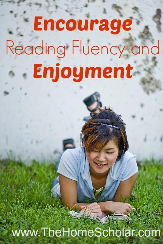 Encourage Reading Fluency and Enjoyment