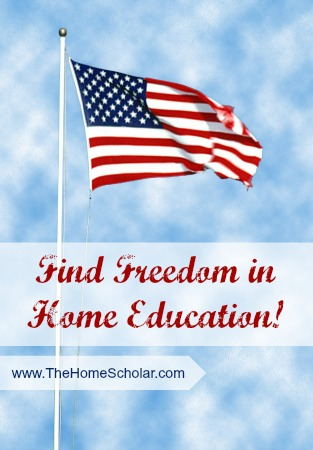 Find Freedom in Home Education!