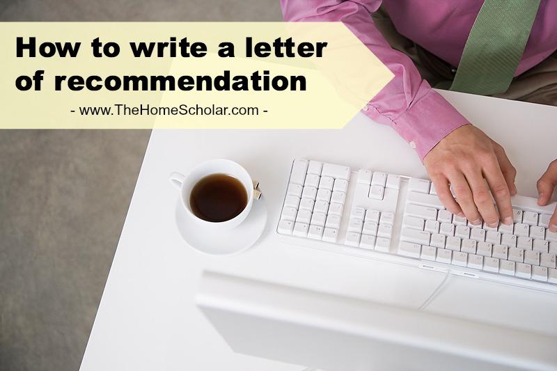 Letter of Recommendation Basics