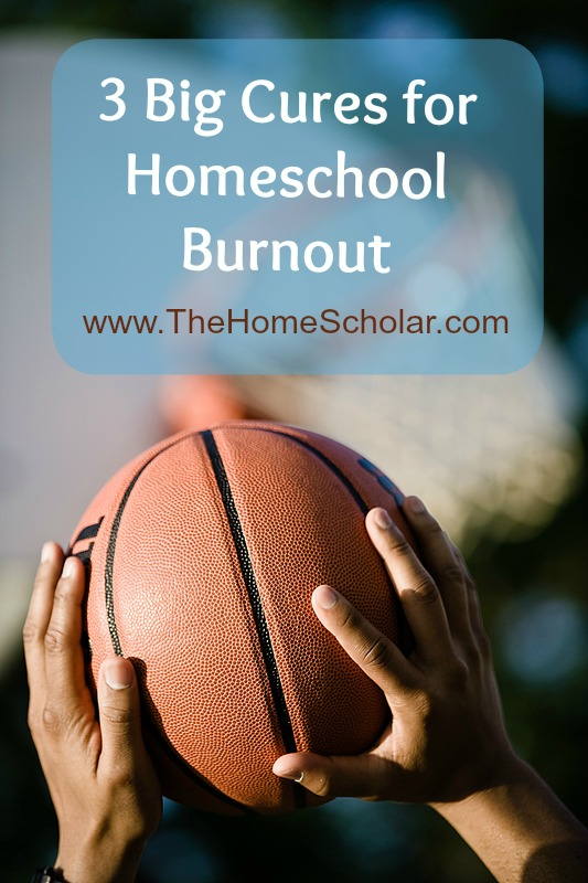 3 Big Cures for Homeschool Burnout