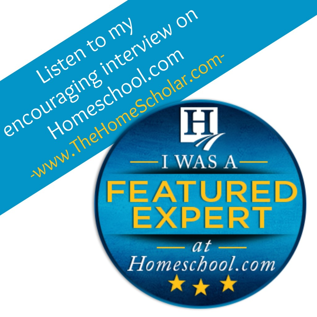 Featured Expert Interview on Homeschool.com