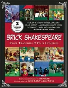 Lego Brick Shakespeare: Four Tragedies & Four Comedies Paperback