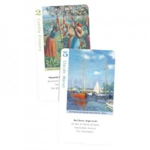 Impressionist Artists, Go Fish for Art Card Game