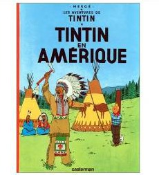 French Edition of Tintin in America