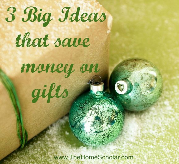 3 Big Ideas That Save Money on Gifts