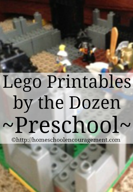 LEGO Printables for Preschoolers