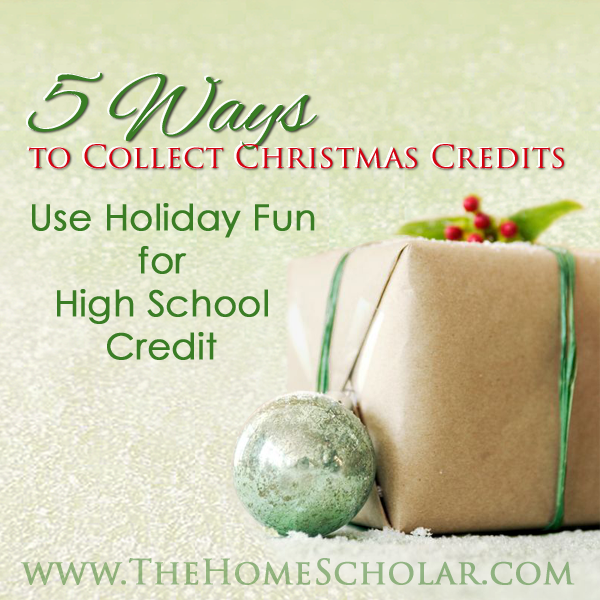 5 Ways to Collect Christmas Credits