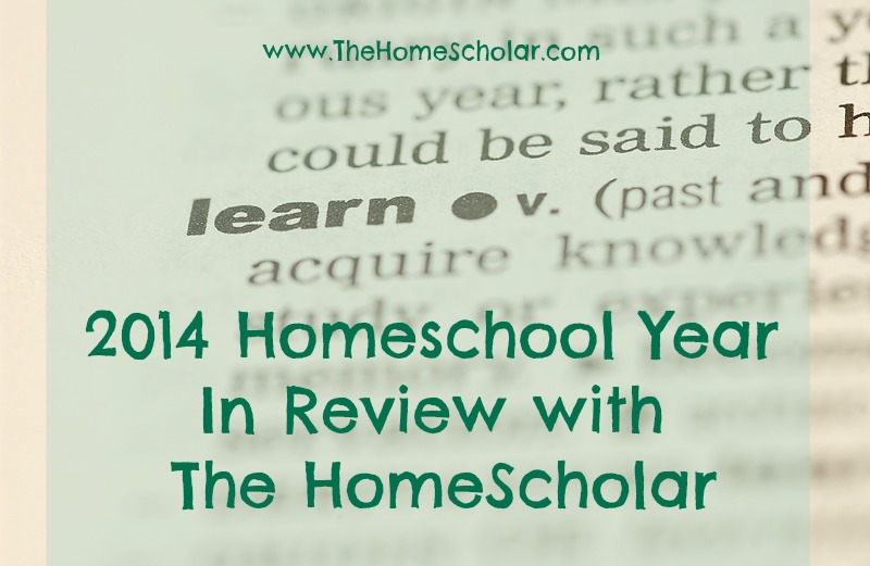 2014 Homeschool Year In Review with The HomeScholar