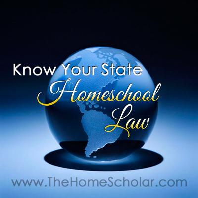 Know Your State Homeschool Law
