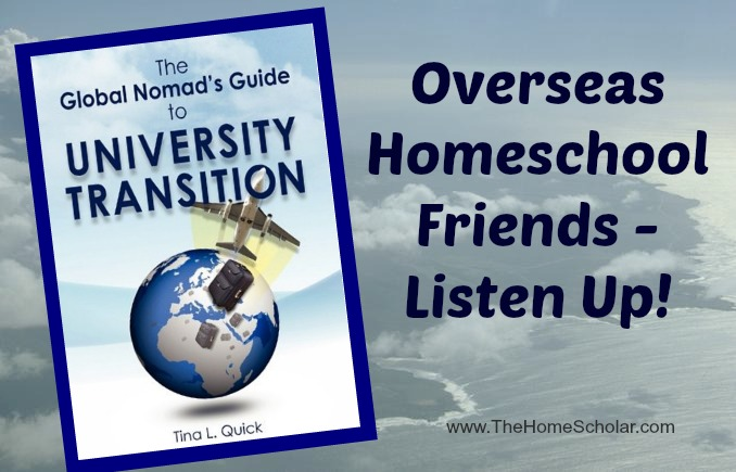 Overseas Homeschool Friends - Listen Up!