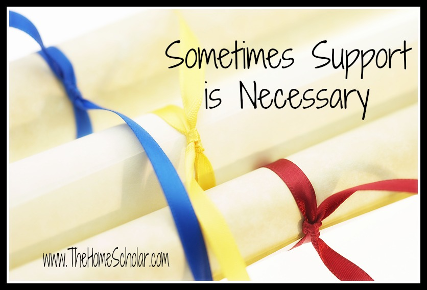 Sometimes Support is Necessary: Homeschool Support