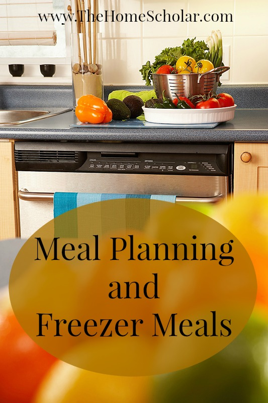 Meal Planning and Freezer Meals